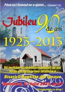Afis IANOVA - JUBILEU 90