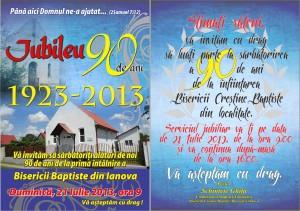 Invitatie -Jubileu 90 IANOVA
